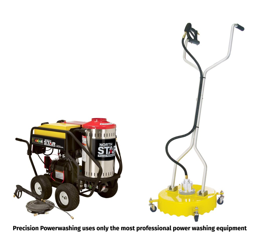 Precision Powerwashing equipment